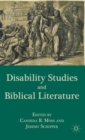 Disability Studies and Biblical Literature - Book