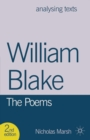 William Blake: The Poems - Book