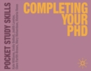 Completing Your PhD - eBook