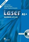Laser 3rd edition A1+ Workbook with key Pack - Book