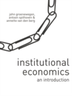 Institutional Economics : An Introduction - Book