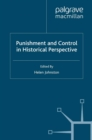 Punishment and Control in Historical Perspective - eBook