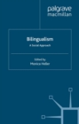 Bilingualism: A Social Approach - eBook