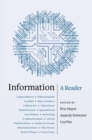 Information : A Reader - Book