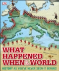 What Happened When in the World : History as You've Never Seen it Before! - eBook