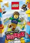 LEGO Book of Mazes Sticker Activity Book - Book