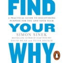 Find Your Why : A Practical Guide for Discovering Purpose for You and Your Team - eAudiobook