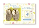 Tale of Peter Rabbit Book and First Booties Gift Set - Book