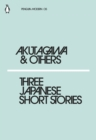 Three Japanese Short Stories - Book