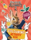 PETER RABBIT MOVIE 2 COLOURING STICKR BK - Book