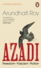 AZADI : Freedom. Fascism. Fiction. - Book