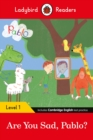 Ladybird Readers Level 1 - Pablo: Are You Sad, Pablo? (ELT Graded Reader) - Book