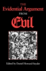 The Evidential Argument from Evil - eBook