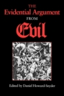 The Evidential Argument from Evil - Book