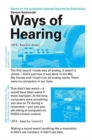 Ways of Hearing - Book