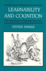 Learnability and Cognition : The Acquisition of Argument Structure - eBook