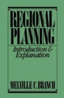 Regional Planning : Introduction and Explanation - Book