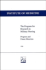 The Program for Research in Military Nursing : Progress and Future Direction - Book