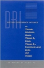 Dietary Reference Intakes for Thiamin, Riboflavin, Niacin, Vitamin B6, Folate, Vitamin B12, Pantothenic Acid, Biotin, and Choline - Book