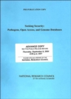 Seeking Security : Pathogens, Open Access, and Genome Databases - Book