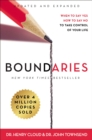 Boundaries Updated and Expanded Edition : When to Say Yes, How to Say No To Take Control of Your Life - eBook