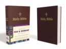 NRSV, Pew and Worship Bible, Hardcover, Burgundy, Comfort Print - Book
