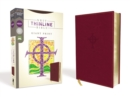 NRSV, Thinline Bible, Giant Print, Leathersoft, Burgundy, Comfort Print - Book
