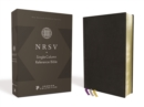 NRSV, Single-Column Reference Bible, Premium Goatskin Leather, Black, Premier Collection, Comfort Print - Book