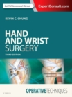 Operative Techniques: Hand and Wrist Surgery - Book