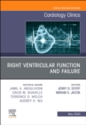 Right Ventricular Function and Failure, An Issue of Cardiology Clinics - Book