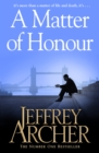 A Matter of Honour - eBook