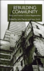 Rebuilding Community : Policy and Practice in Urban Regeneration - Book