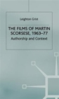 The Films of Martin Scorsese, 1963-77 : Authorship and Context - Book