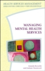 Managing Mental Health Services - Book
