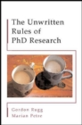 The Unwritten Rules of PHD Research - Book