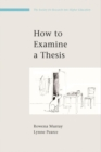 EBOOK: How to Examine a Thesis - eBook