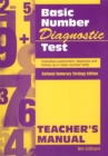 Basic Number Diagnostic Test Manual : Individual Assessment, Diagnosis and Follow-Up in Basic Number Skills Teacher's Manual - Book