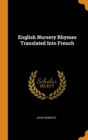 English Nursery Rhymes Translated Into French - Book