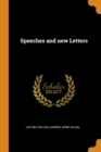 Speeches and New Letters - Book