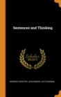 Sentences and Thinking - Book