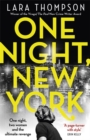 One Night, New York : 'A page turner with style' (Erin Kelly) - Book