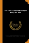 The True Chronicle History of King Leir. 1605 - Book