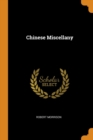 Chinese Miscellany - Book