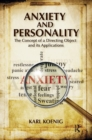Anxiety and Personality : The Concept of a Directing Object and its Applications - Book