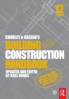 Chudley and Greeno's Building Construction Handbook - Book