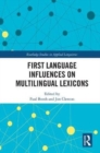 First Language Influences on Multilingual Lexicons - Book