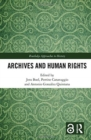 Archives and Human Rights - Book