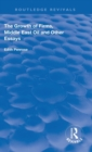 The Growth of Firms, Middle East Oil and Other Essays - Book