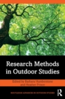 Research Methods in Outdoor Studies - Book