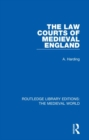 The Law Courts of Medieval England - Book